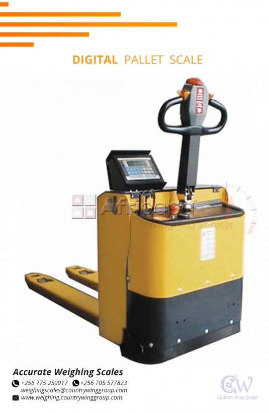 Digital heavy duty Pallet Truck weighing scales Wandegeya