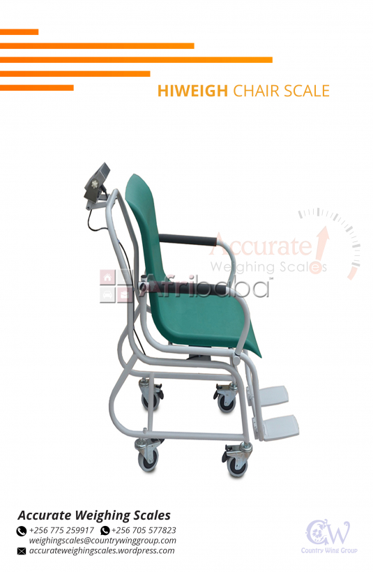 What is the budget of Hiweigh Health Chair Scales in Kampala Uganda