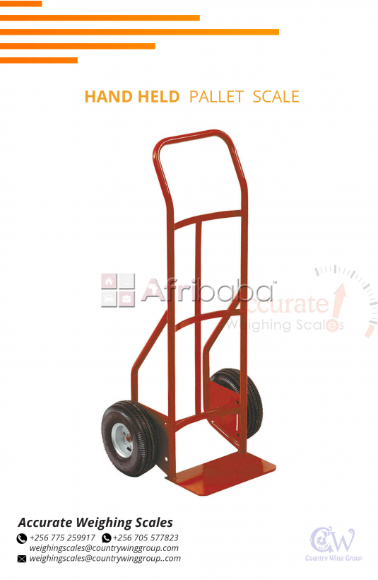 Box carrying Trolley weighing scales available for sale Wandegeya