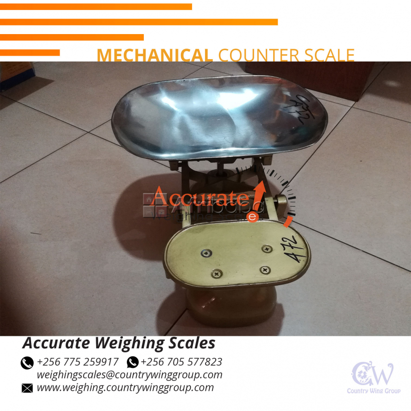 What is the cost Mechanical counter scales in Kampala Uganda?