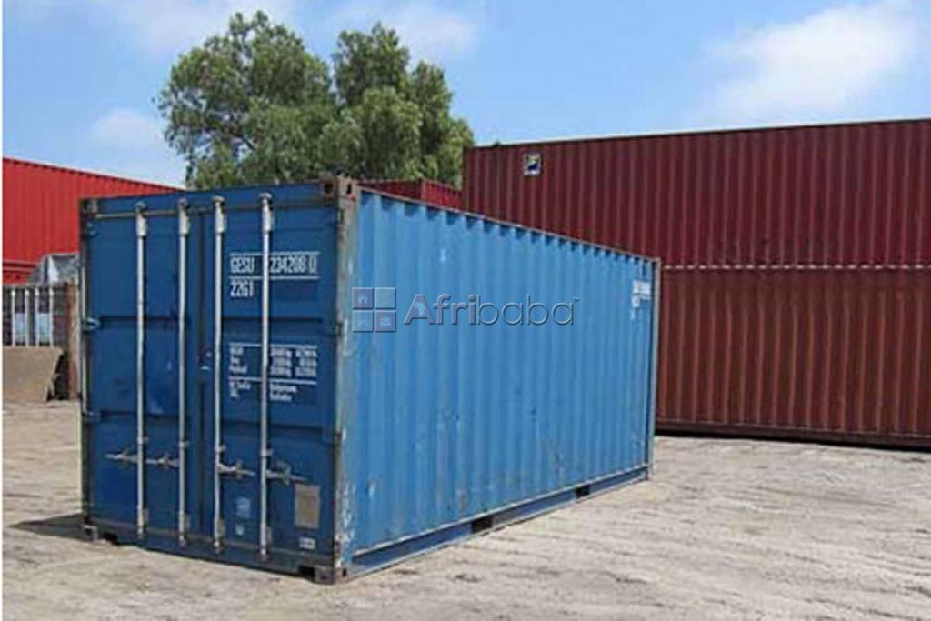 20ft containers on quick sale in Banda at 8.5m in good conditions. #1