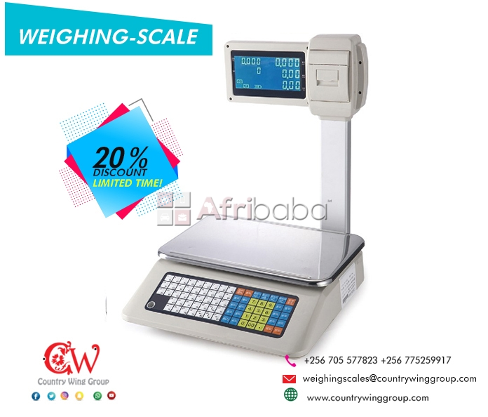 Affordable Electronic Price Computing Scales in Uganda