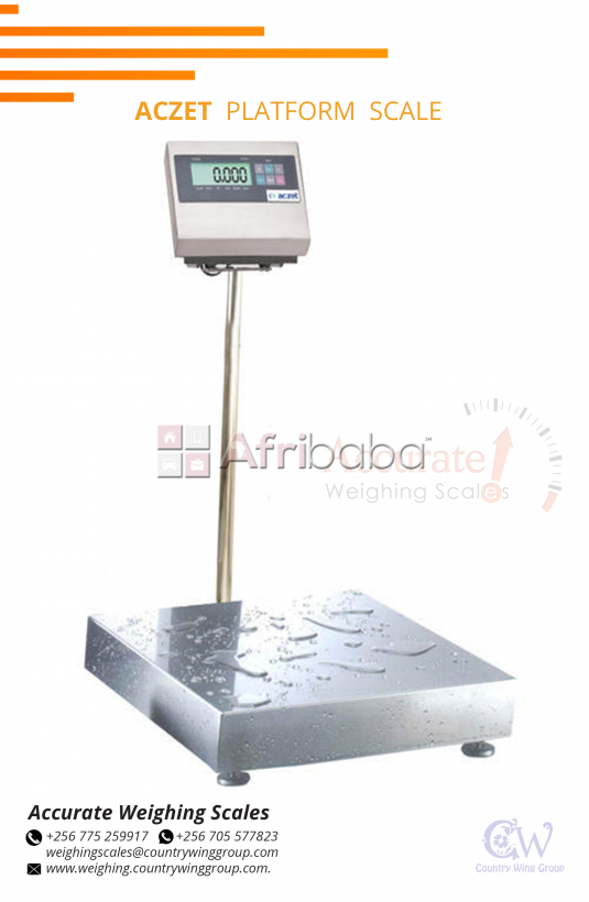 Waterproof platform scales in Kampala Uganda