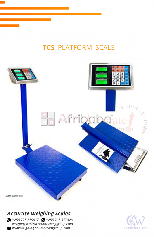 How much is a tcs platform weighing scale in kampala #1