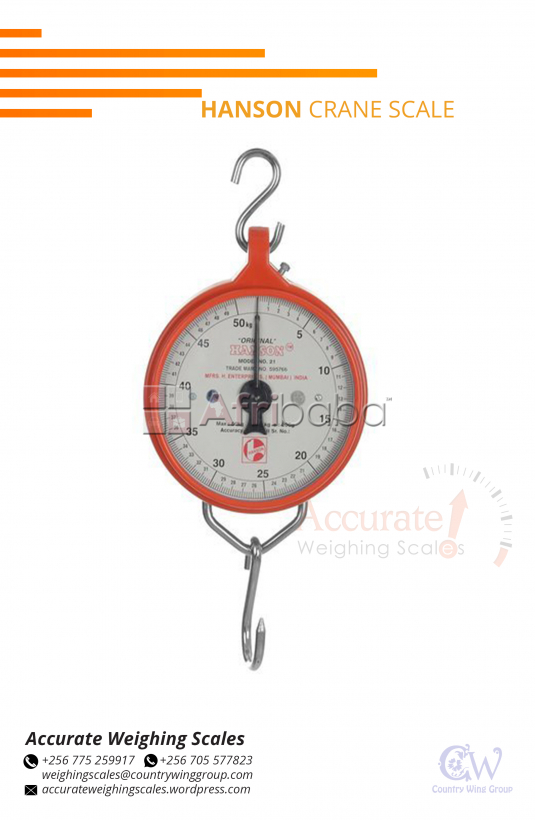 Where in Kampala can I find a Hanson Crane hanging scale supplier shop