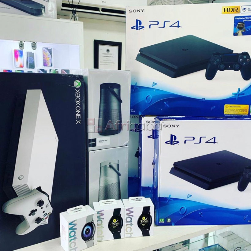 sony ps4 pro playstation 4 pro 1tb game consoles + 10 games & 2 wirel #1