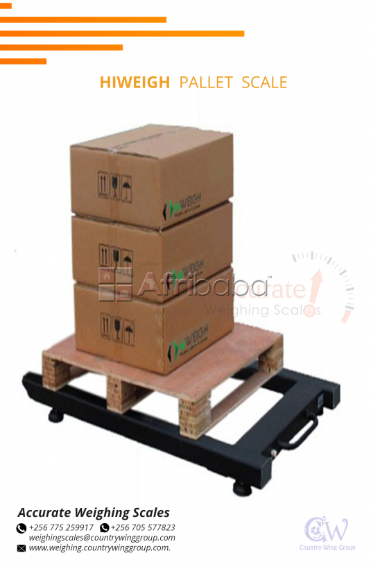 Pallet Truk weighing scale in Wandegeya Uganda