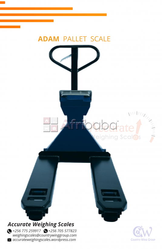 Is your Adam Pallet Truck scale certified for trade in Kampala Uganda