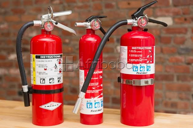Fire extinguishers safety