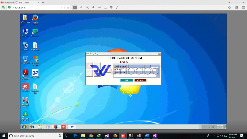 RidgeWeigh, an easy to use software