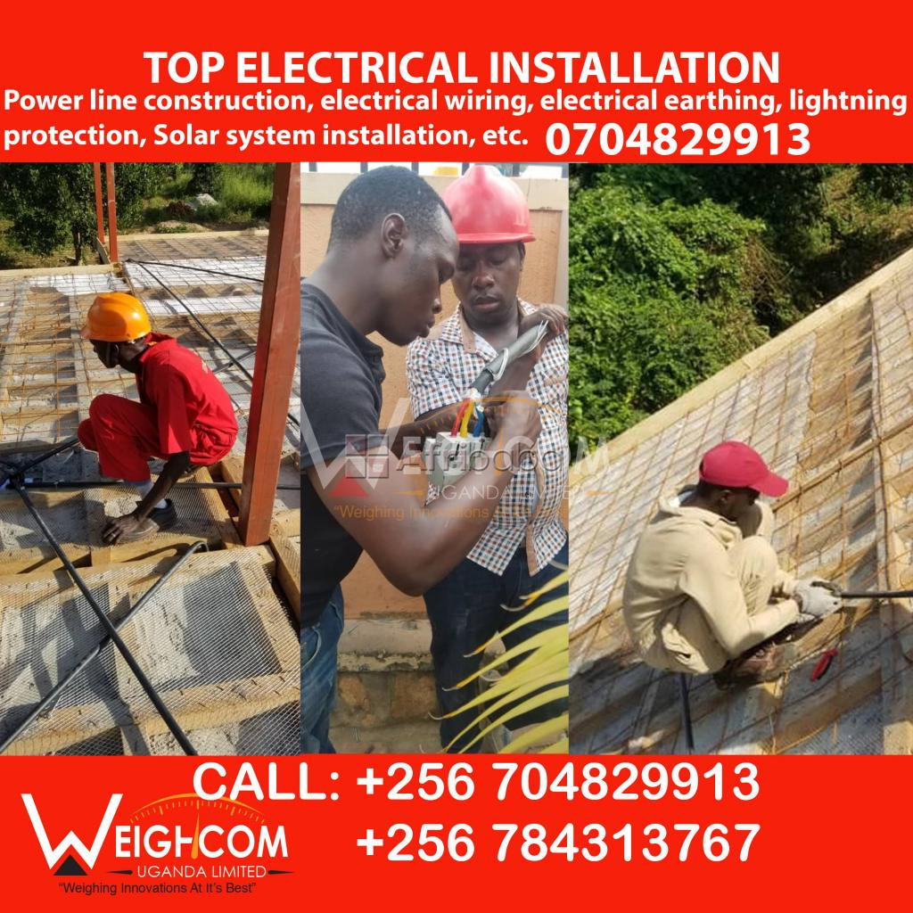 Professional Electricians in Electrical Wiring in Uganda #1