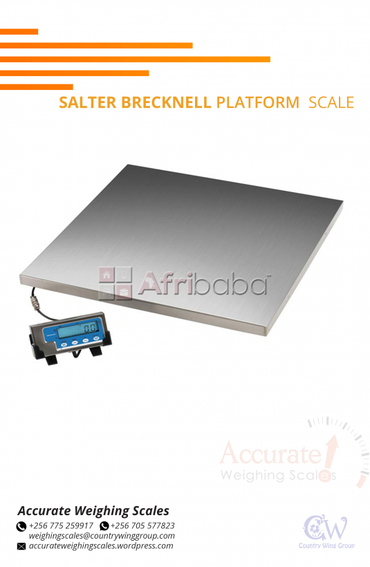 What is the cost of a Salter Brecknell Platform Scale in Uganda