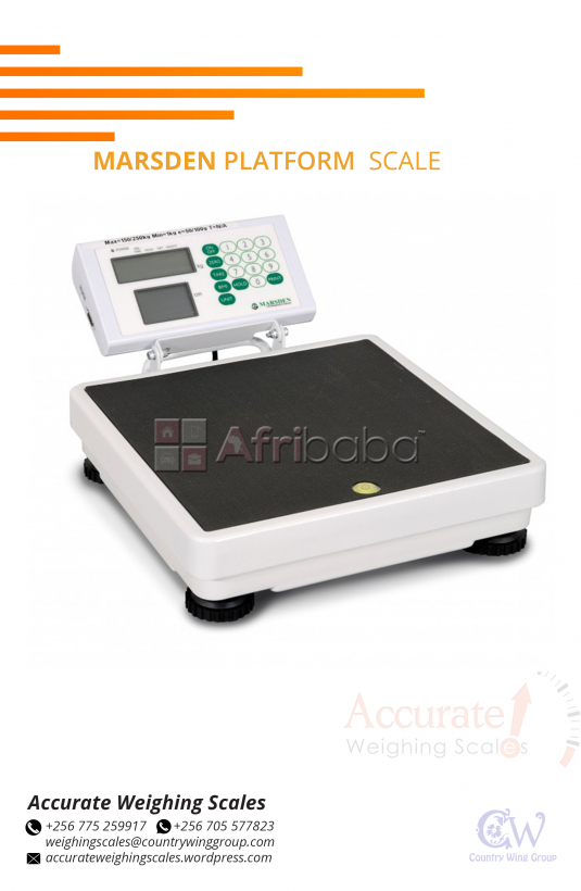 What is the cost of a Marsden Platform Scale in Kampala