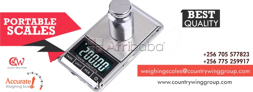 Certified High Precision Weighing Scales in Uganda