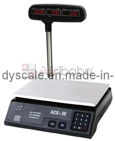 Reliable Electronic Price Computing Scales in Uganda