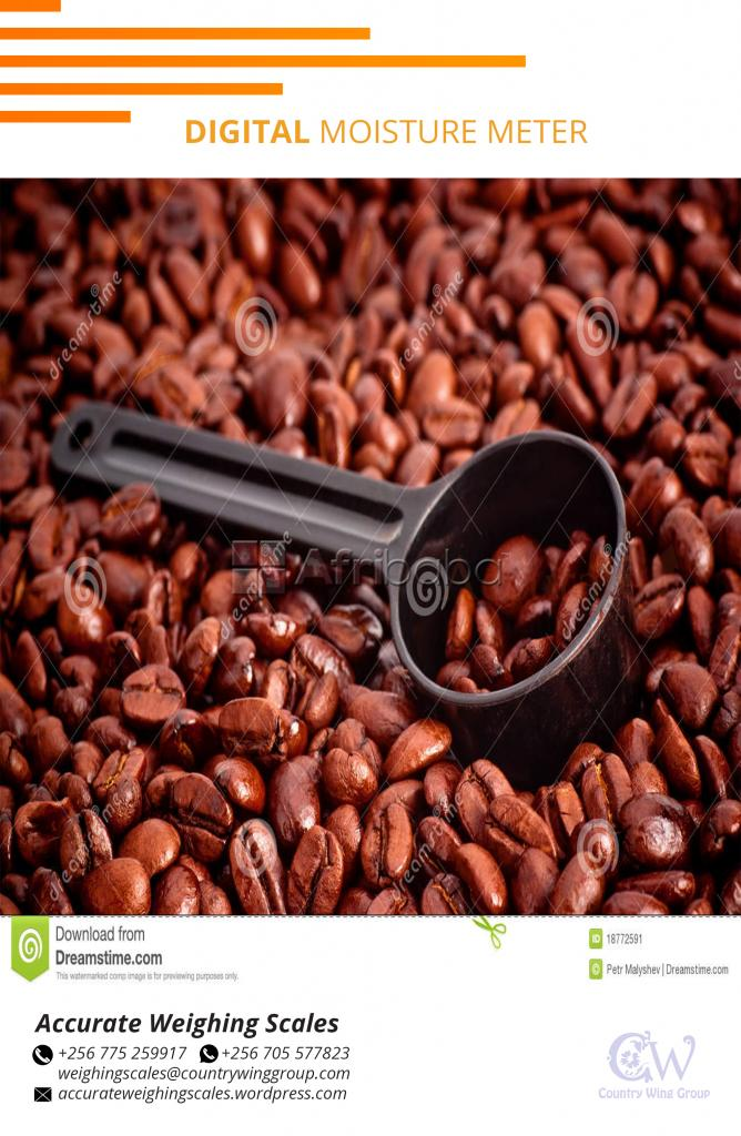 Cocoa and Coffee beans moisture meters for farm harvest on sale