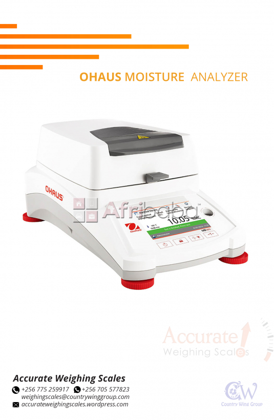 What is the price of Ohaus Moisture Meter Analyzers in Kampala