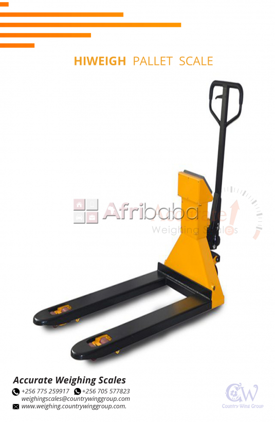 Where can l find Hiweigh Pallet Truck weighing scales Uganda