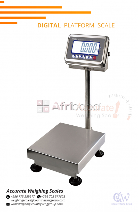 Portable Digital Platform Scales in Uganda.