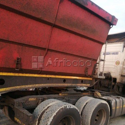Cheap and affordable 34 ton side tipper trucks #1