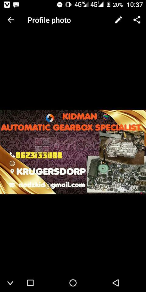Automatic gearbox specialist #1