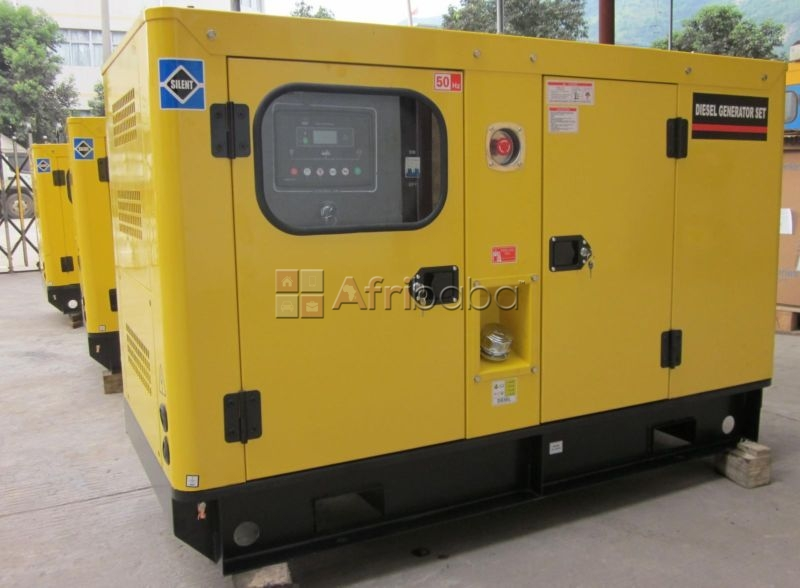Perkins 10.kva silent single phase diesel generator