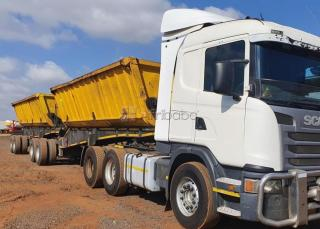 Need to rent/hire 34 ton side tipper truck