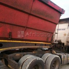 Cheap and affordable 34 ton side tipper trucks