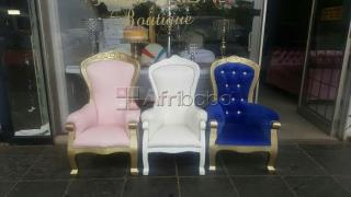 Kids throne chairs