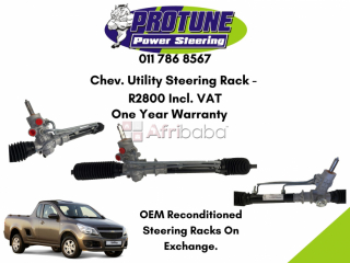 Chev. utility - oem reconditioned steering rack