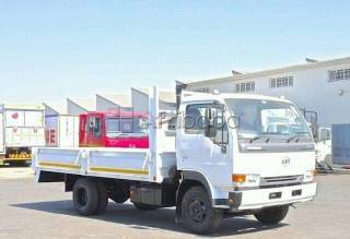 2013 nissan ud40 dropside truck for sale.