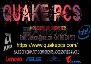 For all your pc & laptop upgrades and more