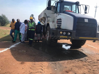 Winter special adt dump truck training with free forklift