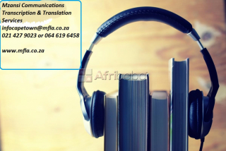 Transcription and translation services in cape town