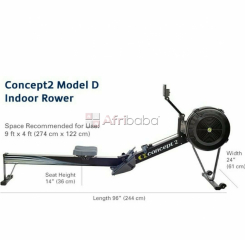 Concept 2 rowing machine model d pm5