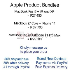 Apple iPhone Bundles and Apple iPhone Devices