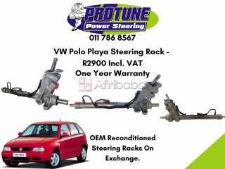 Vw polo playa - oem reconditioned steering racks