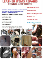 Tokkie And Toffie Leather Goods Repairs, Alterations, Cut 2 Size