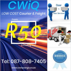 Low Cost Door-to-Door Courier Service: Lock-down Promotion