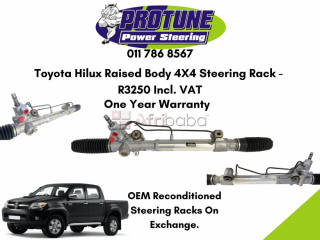 Toyota hilux raised body 4x4 - oem reconditioned steering racks