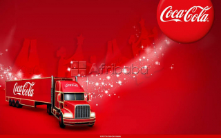 Delivery truck drivers@coke