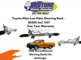Toyota hilux low rider - oem reconditioned steering racks #1