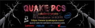 Quakepcs for your Computers & Laptops upgrades and more