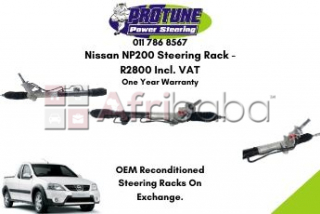 Nissan np200 - oem reconditioned steering racks