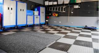 High-End Interlocking Flooring for Home, Business, Garages and Schools