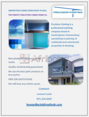 Precision Painting, house painting, home renovation