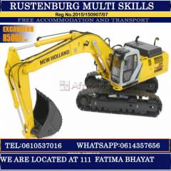 Dump truck,TLB,Excavator,Rigging,Boilermaker training center