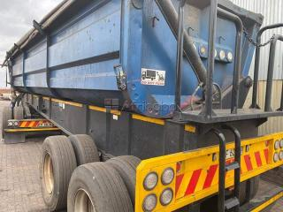 34 ton side tippers for rental