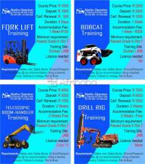 Abethu operators training for tlb, excavator, grader