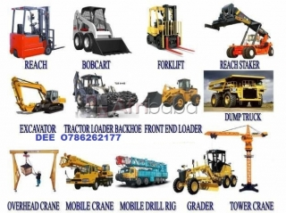 College for training of fork lift,mobile crane,over head crane,roller